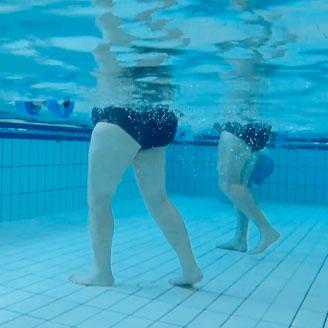 Rehabilitation pool aquatic therapy