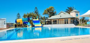 West Beach Parks resort pool - winner commercial project of the year 2020