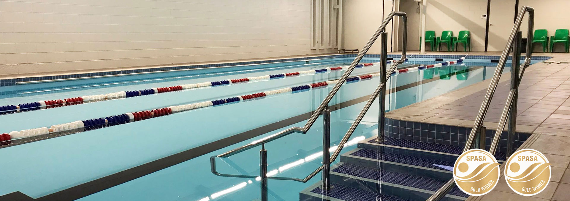 Alan Coulter Recreation Centre Renovated pool