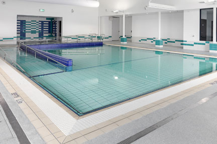 wellness centre pool, boandik lodge
