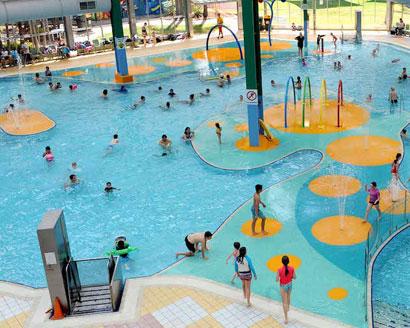 Adelaide Aquatic Centre Leisure Pool