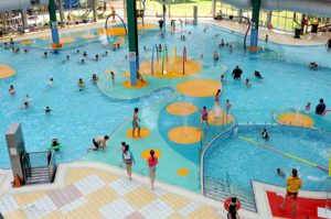 indoor inclusive water play features Adelaide aquatic centre