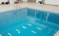 Immersion therapy pool, learn to dive