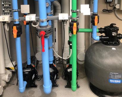 hydraulic systems for public pool