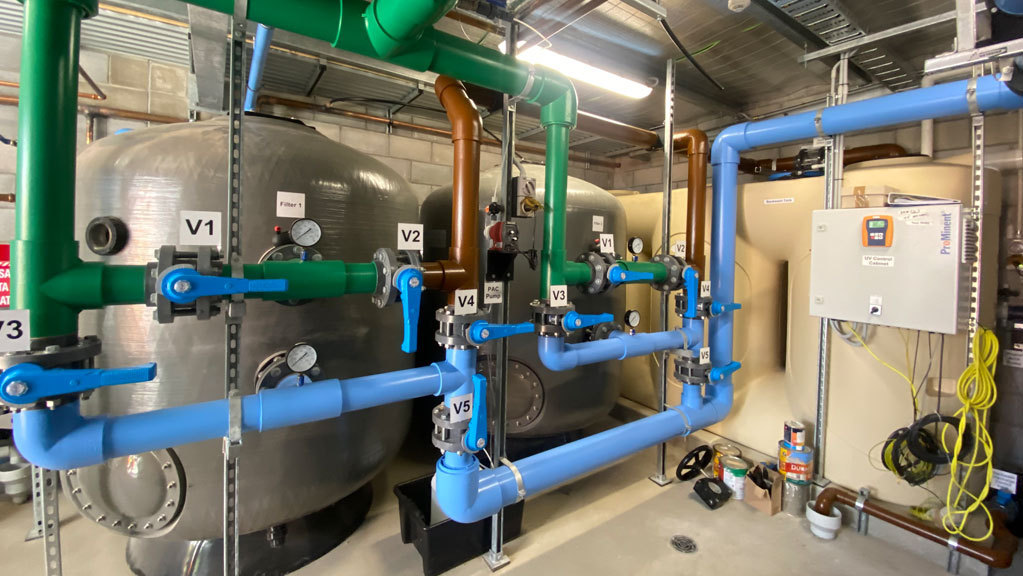 commercial pool filtration system hydraulics